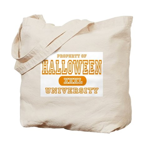 Halloween University Tote Bag