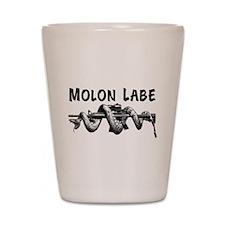 Molon Labe AR15 Shot Glass