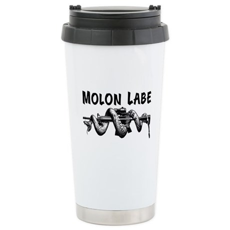 Molon Labe AR15 Stainless Steel Travel Mug