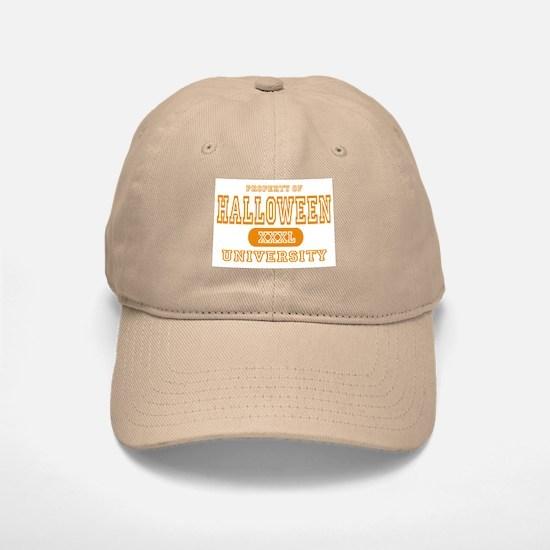 Halloween University Baseball Baseball Cap