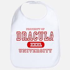 Dracula University Vampire Bib
