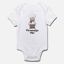 Personalized French Chef Infant Bodysuit