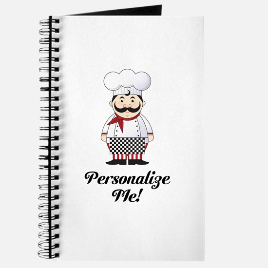 Personalized French Chef Journal