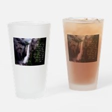 Hope Is The Bedrock - Barack Obama Drinking Glass