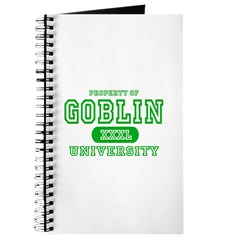 Wicked Witch University Halloween Journal
