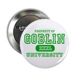 Wicked Witch University Halloween Button