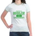 Wicked Witch University Halloween Jr. Ringer T-Shi