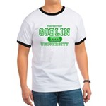 Wicked Witch University Halloween Ringer T