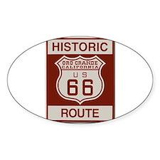 Oro Grande Route 66 Decal