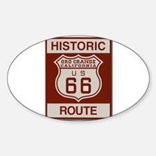 Oro Grande Route 66 Decal