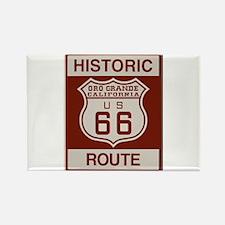 Oro Grande Route 66 Rectangle Magnet