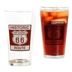 Oro Grande Route 66 Drinking Glass