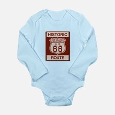 Oro Grande Route 66 Long Sleeve Infant Bodysuit