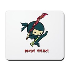 Bacon Ninjas Mousepad