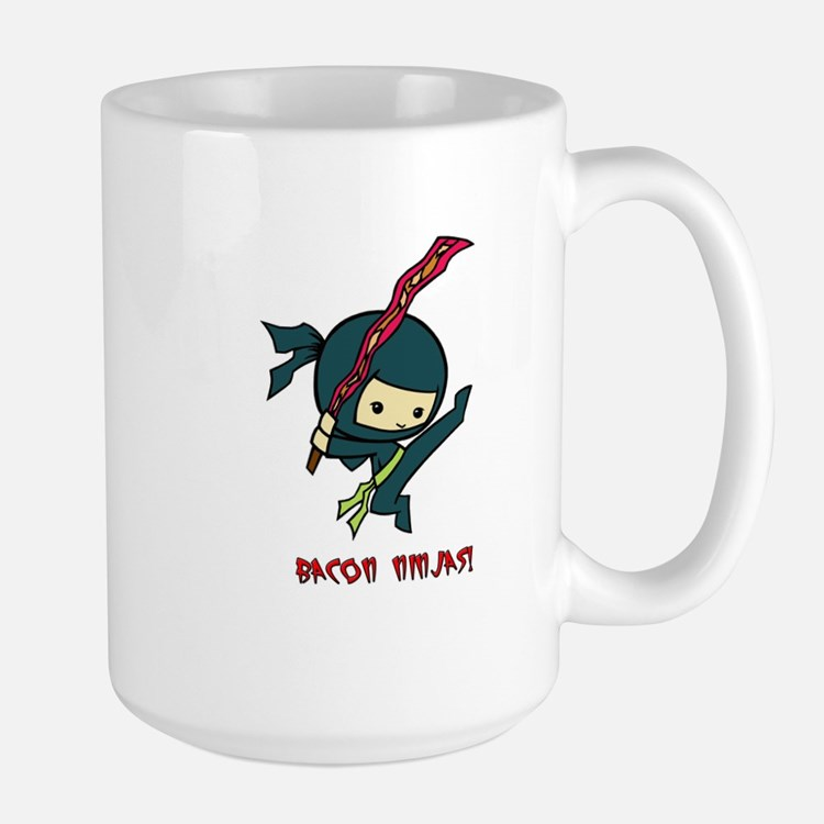 Bacon Ninjas Large Mug