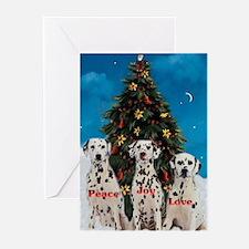 Dalmatian Christmas Greeting Cards (Pk of 10)