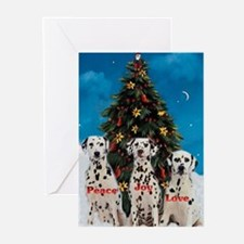 Dalmatian Christmas Greeting Cards (Pk of 20)
