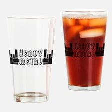 Heavy Metal Drinking Glass