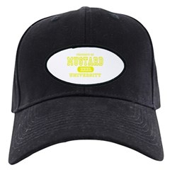 Mustard University Yellow Baseball Hat