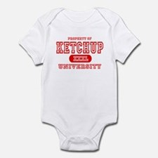 Ketchup University Catsup Infant Bodysuit