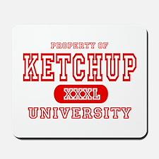 Ketchup University Catsup Mousepad