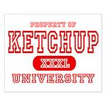 Ketchup University Catsup Small Poster
