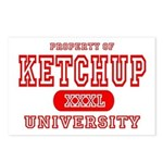 Ketchup University Catsup Postcards (Package of 8)