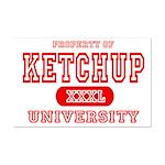 Ketchup University Catsup Mini Poster Print
