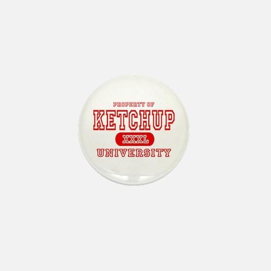 Ketchup University Catsup Mini Button