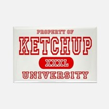 Ketchup University Catsup Rectangle Magnet