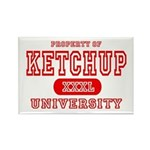 Ketchup University Catsup Rectangle Magnet (10 pac