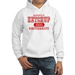 Ketchup University Catsup Hooded Sweatshirt