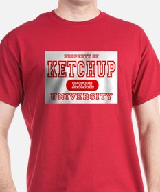 Ketchup University Catsup T-Shirt