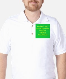 meatballs Golf Shirt