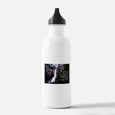 Optimism Is The Faith - Helen Keller Water Bottle