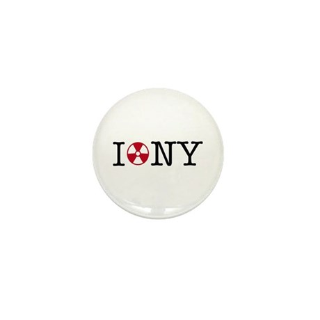 I Love NY Mini Button