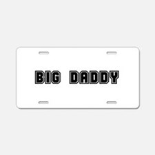 Cute Big brother in training Aluminum License Plate