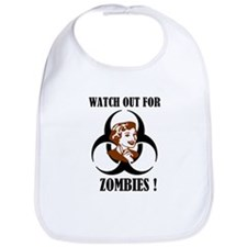 Watch Out For Zombies Bib