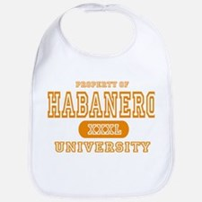 Habanero University Pepper Bib