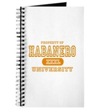 Habanero University Pepper Journal