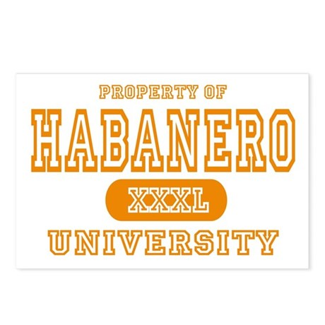 Habanero University Pepper Postcards (Package of 8