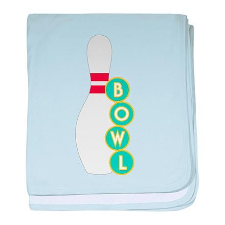 Bowl baby blanket
