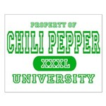 Chili Pepper University Small Poster