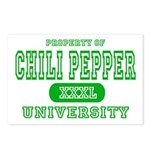 Chili Pepper University Postcards (Package of 8)