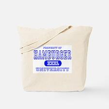 Hamburger University Tote Bag