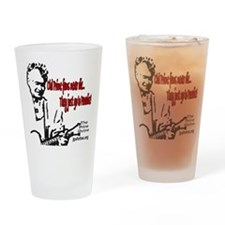 Old Prine Fans Drinking Glass