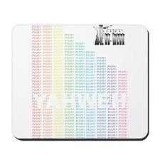 Rainbow YHWH Mousepad