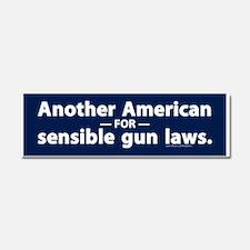 Sensible Gun Laws Car Magnet 10 x 3