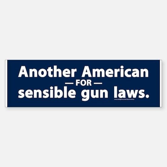 Sensible Gun Laws Bumper Bumper Bumper Sticker