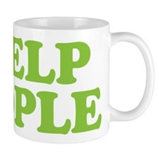 I Help People Mug